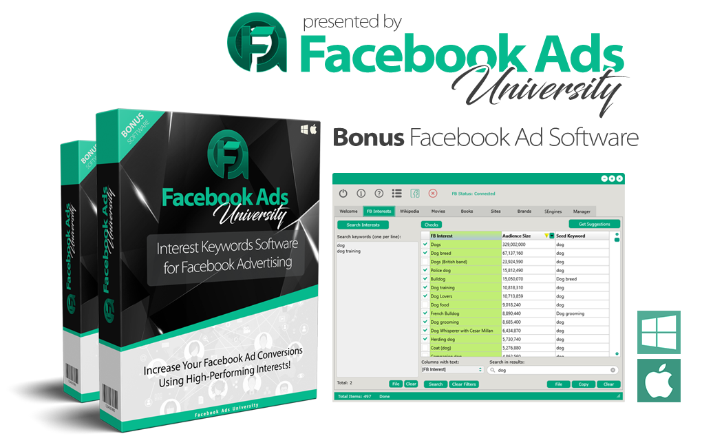 J.R. Fisher – Facebook Ads University 7