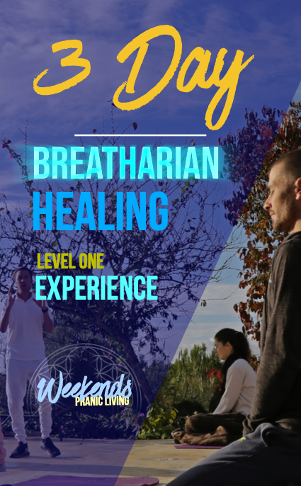 The New 3 Day Breatharian Healing Training is here!
