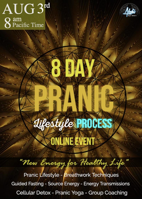 8 Day Pranic Lifestyle Process